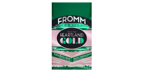 Fromm Gold Heartland Sans Grain Adulte Grande Race 12 Lb