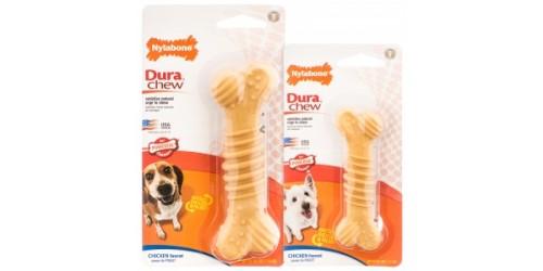 Nylabone Dura Chew os avec Texture - Saveur de Poulet