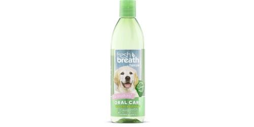Tropiclean Fresh Breath pour Chiots 16 oz Sans Brossage Défense quotidienne aide à combattre la plaque et le tartre