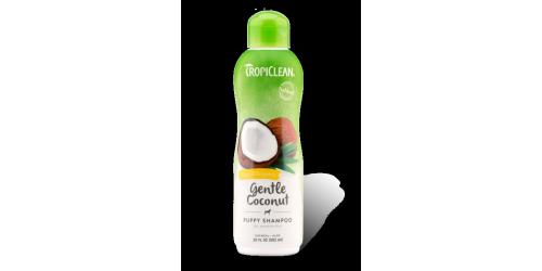 Tropiclean Shampoing doux à la noix de coco Hypoallergénique idéal pour chiot